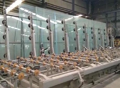 超大玻璃上片系统