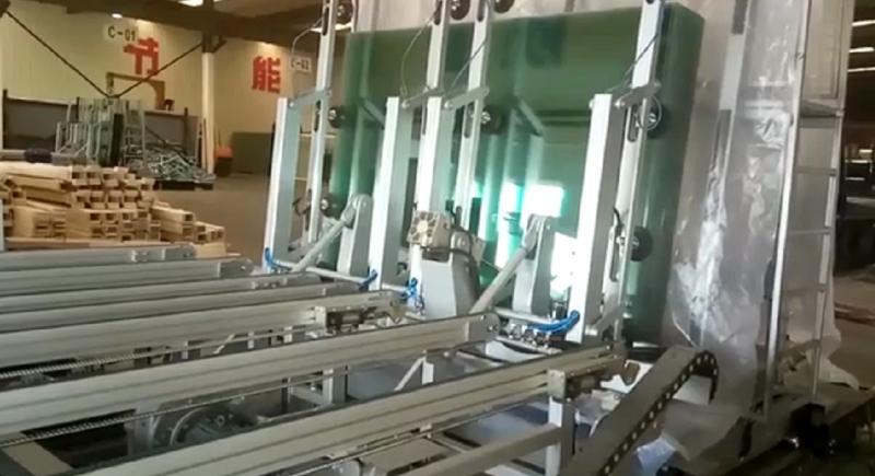 自动下片堆垛系统